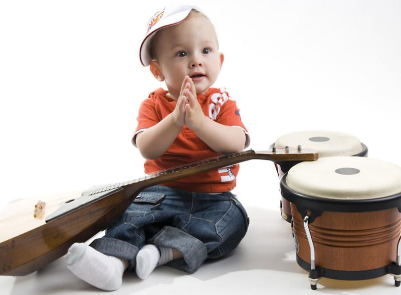 Usos de la musicoterapia para bebés